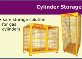 LPG cylinder storage