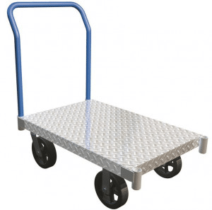 Aluminum deck cart