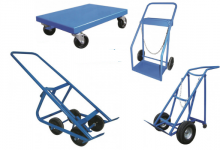 Cylinder dollies and carts