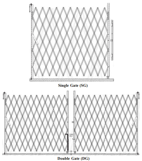 LDC security gate drawing