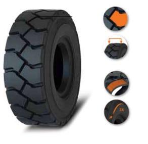 Solideal Hauler LT Pneumatic tire