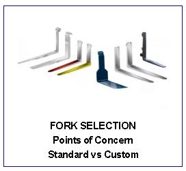 Fork sizing