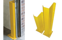 Track Guard roll up door track protectors