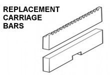 Replacement Carriage Bars
