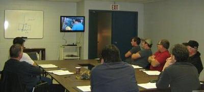 Liftway forklift driver traing program classroom