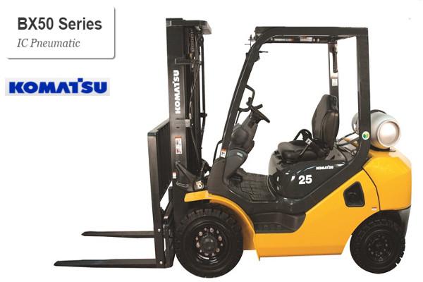 Komatsu Forklift BX50 pneumatic