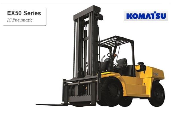 Komatsu EX50 Series Forklift