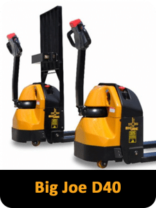 Big Joe Power Pallet truck