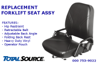 Replacement Seat Assembly
