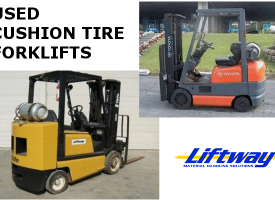 Cushion Tire Forklift Inventory