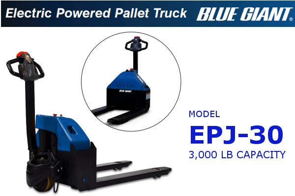 Blue Giant EPJ-30 Powered Pallet Truck
