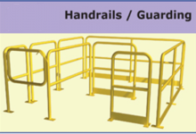 Canway handrails guarding