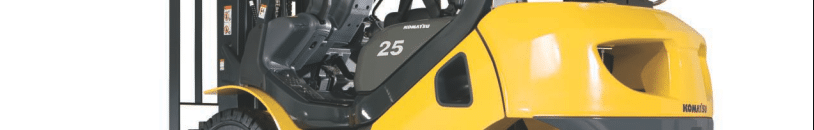 Komatsu BX series cushion tire forklift
