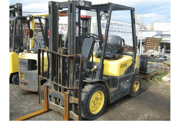 Used Forklifts - Daewoo - Pneumatic Tire