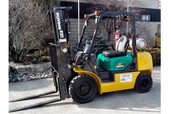Used Forklift - Komatsu FG25T-16