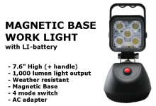 Magnetic Base Worklight