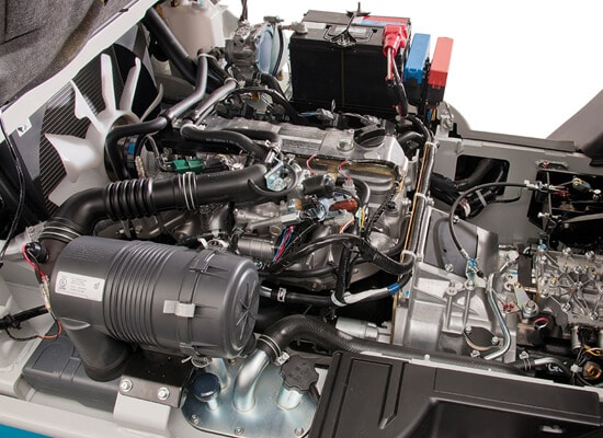 Unicarriers engine