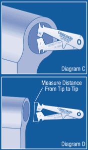 Forklift Wear - Shaft measurement