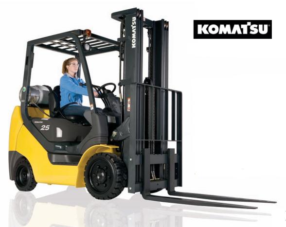 Komatsu BX50 series forklift