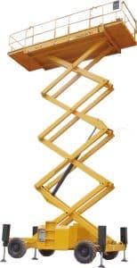 Haulotte - HS4388 RT Rough Terrain Scissor Lift