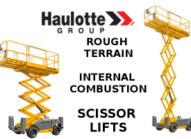 Haulotte - RT.IC.Scissor-lift