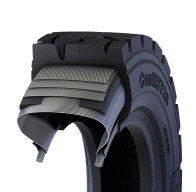 pneumatic tire section