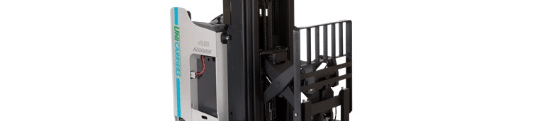 Unicarriers electric reach forklift