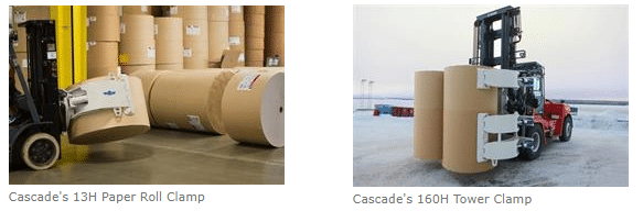 Cascade Paper Clamps