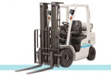 Unicarriers Platinum II Pneumatic Tire Truck