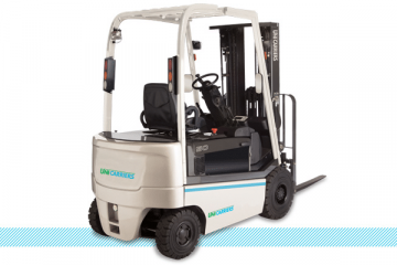 Unicarriers QX 4-wheelSit-down Electric Forklift