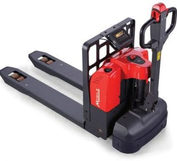 Mobile Pallet truck with scale