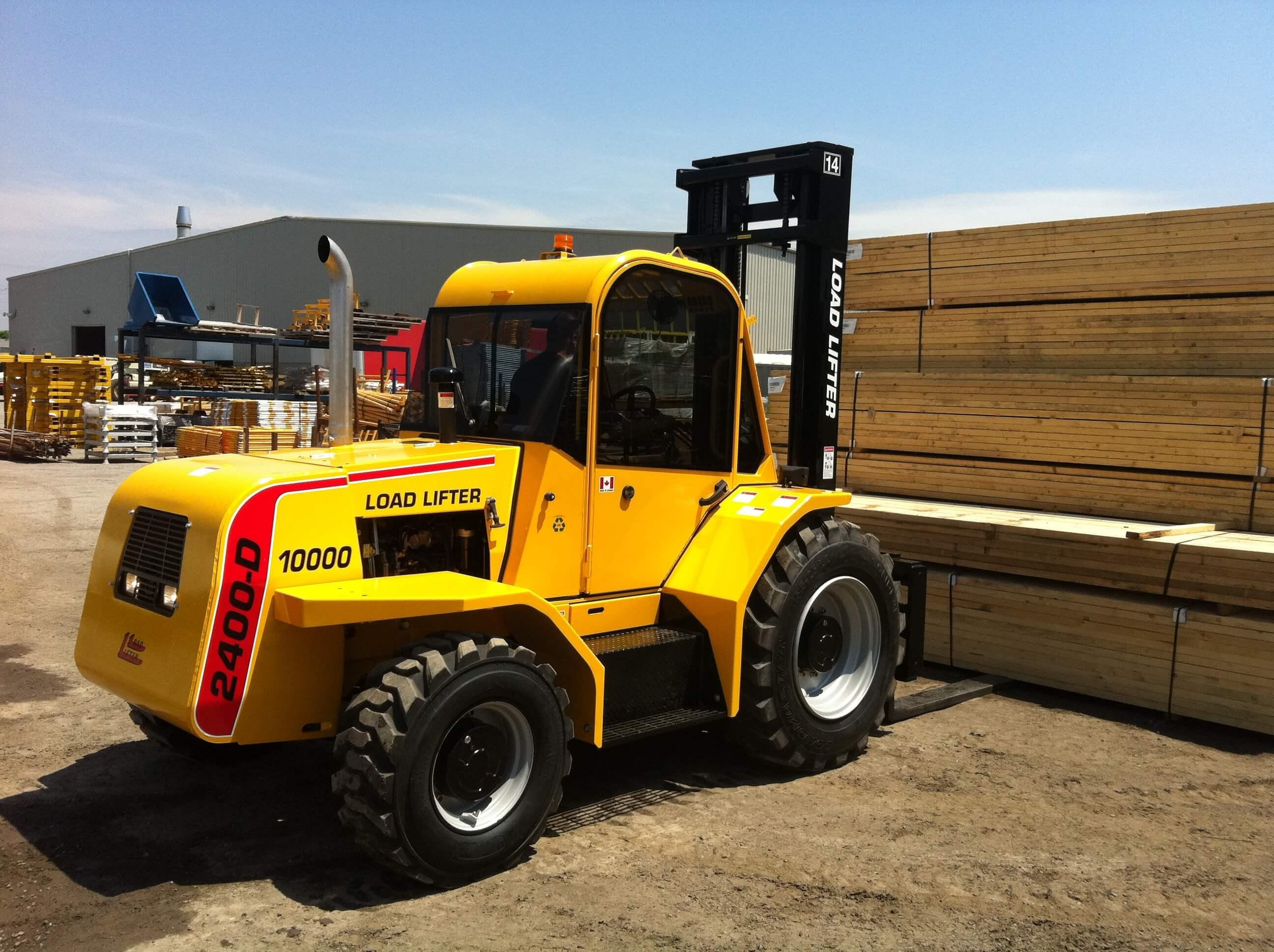 Load Lifter 2400 series All Terrain Forklift