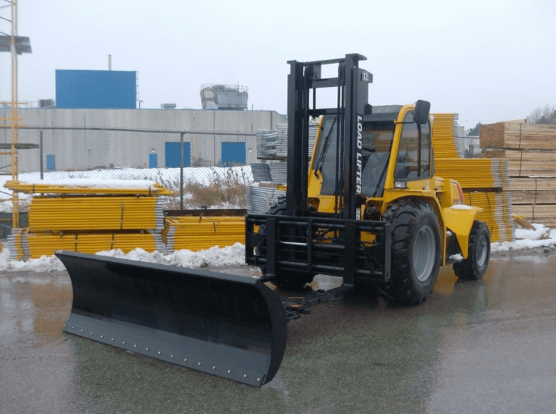 Load Lifter Snow Plow Attachment