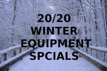Winter Equipment Specials