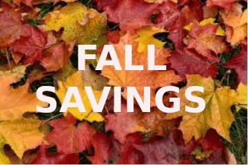 fall specials