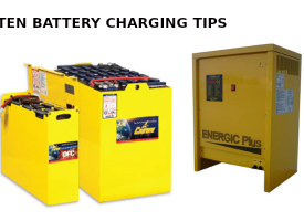 Battery Charging tips