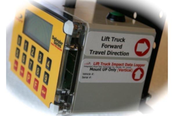 IM3 Defender Forklift Impact Monitor