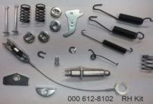 000 612-8102 Brake Hardware Kit