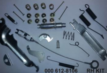 612-8106 Wheel Brake Hardware kit