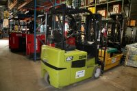 Used Clark TMX25 Electric Forklift