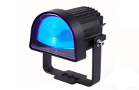 Halo safety blue light