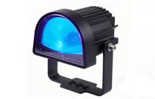 Halo safety blue light