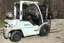 Used forklift - Unicarriers PF80YLP