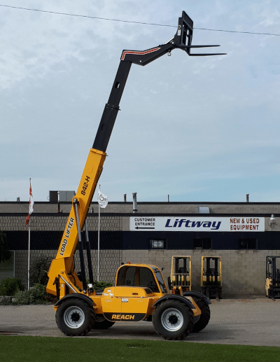 New Load Lifter 842-H Reach Forklift