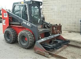 Used T245HDK Skid Steer Loader