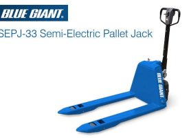 Blue Giant Semi Electric Pallet Truck