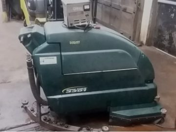Used Noble Walk Behind Floor Scrubber
