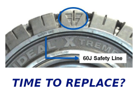 Worn Tire - Time to replace