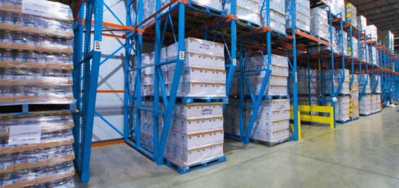 drive in - drive through pallet racking
