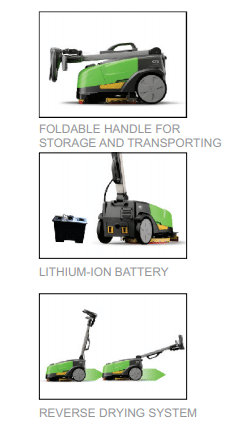 CT5 Automatic floor scrubber